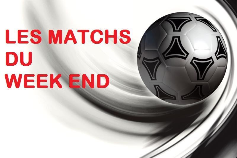 Les matchs du week-end