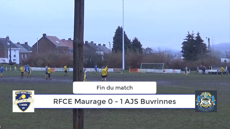 P4 : RFCE Maurage – AJS Buvrinnes