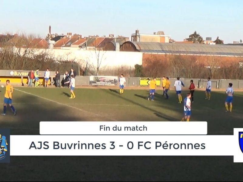 P4 : AJS Buvrinnes – FC Péronnes 3-0 (1-0) – Résumé en vidéo