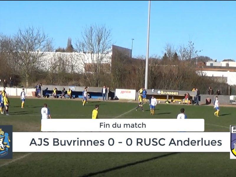P4 : AJS Buvrinnes – RUSC Anderlues 0-0 : résumé en vidéo