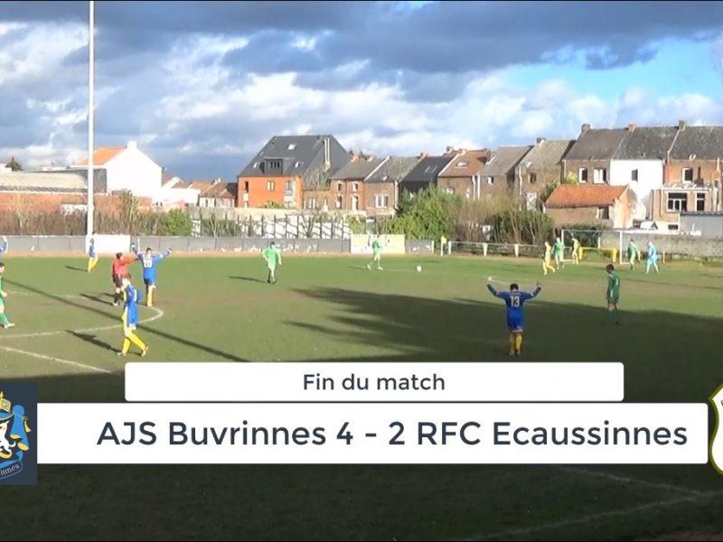 P4 : AJS Buvrinnes – RFC Ecaussinnes 4-2 (3-1) : résumé en vidéo