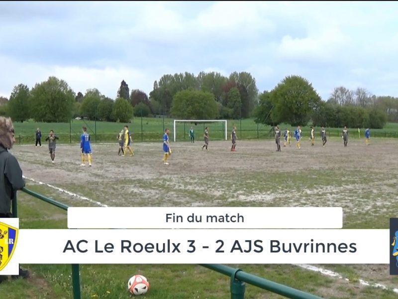 P4 : AC Le Roeulx – AJS Buvrinnes 3-2 (0-1) résumé en vidéo