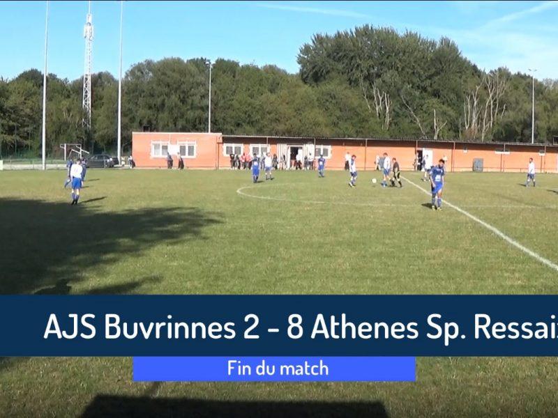P4 : Ajs Buvrinnes – Athenes Sport Ressaix 2-8 (0-3)