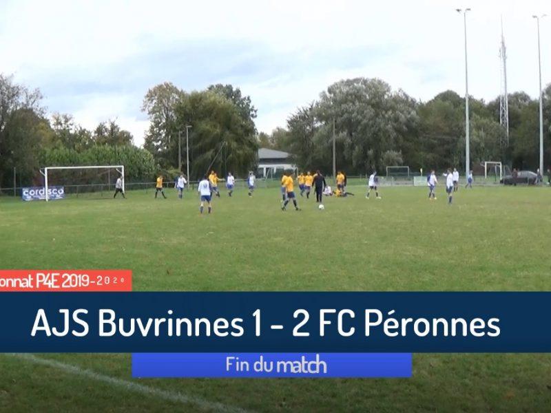 P4 : AJS Buvrinnes – FC Péronnes 1-2 (1-1)